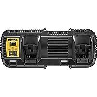 Dewalt DCB132-QW Cargador Doble XR Flexvolt: 54V-18V-14, 108 W, 52 V, Negro, Size