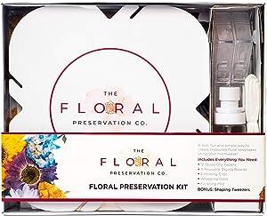 Floral Preservation Kit - DIY Flower Preserving Kit for Scrapbooking, Photo Albums & More, Developed with David Tutera The Celebrity Wedding Planner