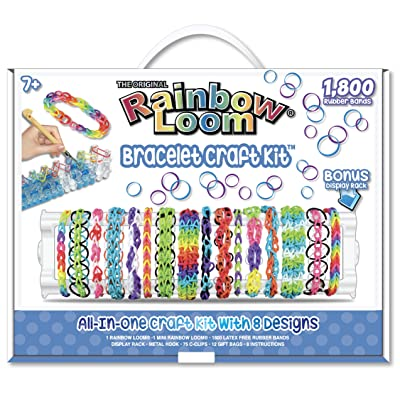 Rainbow Loom Bracelet Craft Kit: Toys & Games
