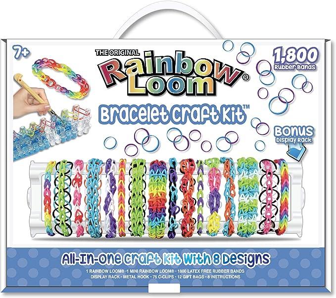 Amazon Com Rainbow Loom Bracelet Craft Kit Toys Games