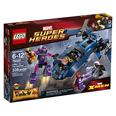 LEGO Superheroes X-Men vs. The Sentinel Building Set 76022 (Discontinued by manufacturer): Toys & Games