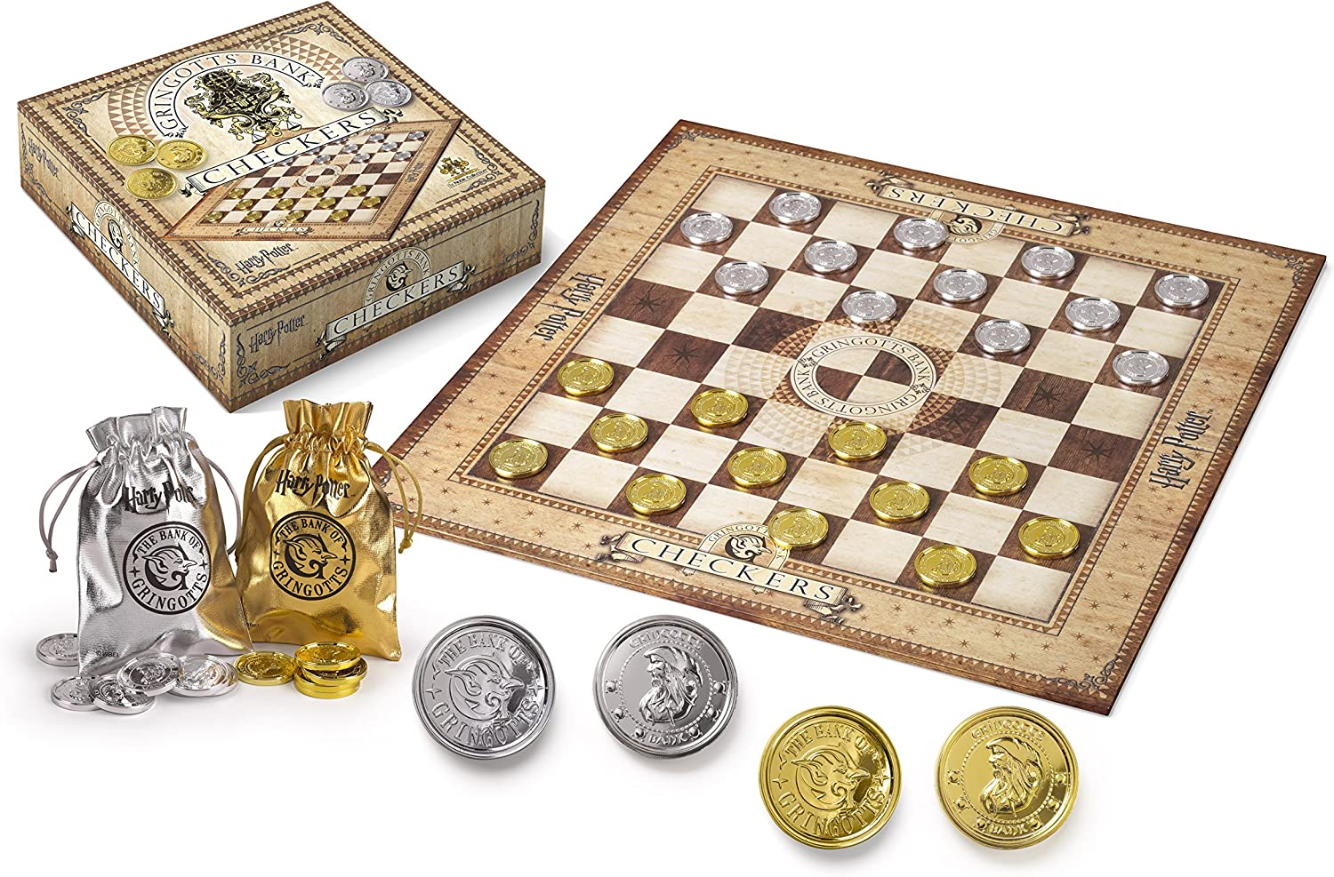 Noble Collection NN7215. Harry Potter Juego de Damas con Monedas Gringott.: Amazon.es: Juguetes y juegos