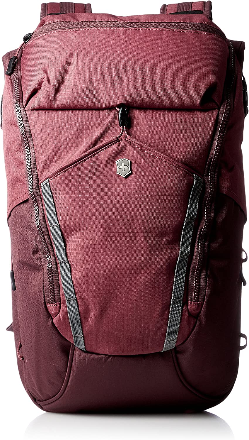 Victorinox Altmont Active Deluxe Rolltop Laptop Backpack, Burgundy, 18.9-inch