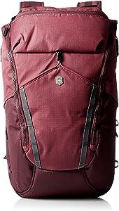 Victorinox Altmont Active Deluxe Rolltop Laptop Backpack, Burgundy, 18.9-inch