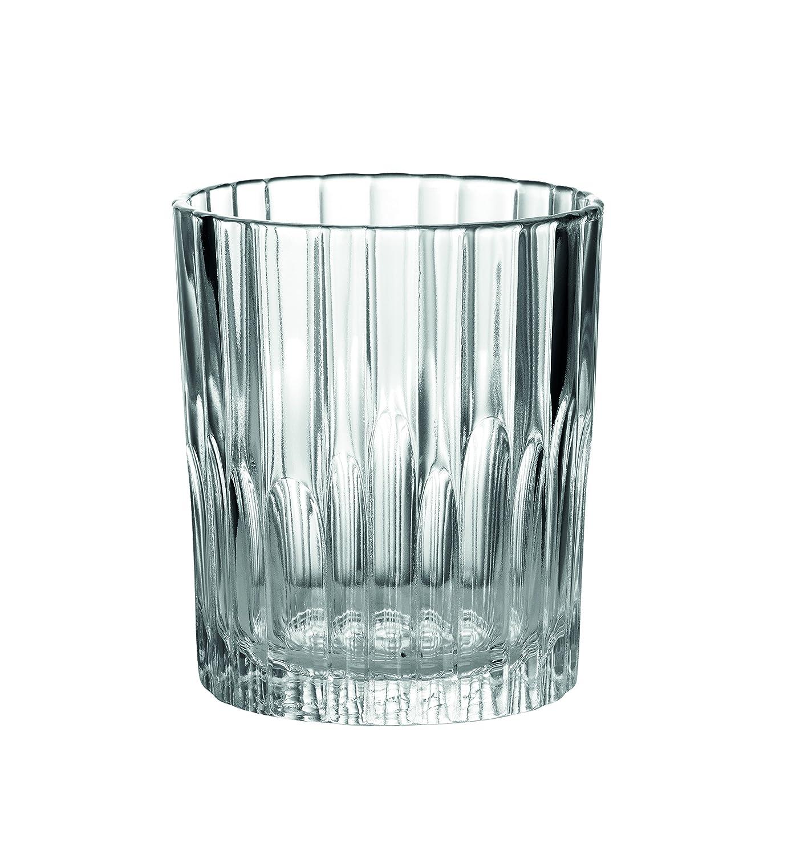 Duralex 1056AC04 Manhattan Clear Glass Tumblers Set of 4, 7.5 cm