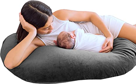 Breastfeeding pillow banana shape with