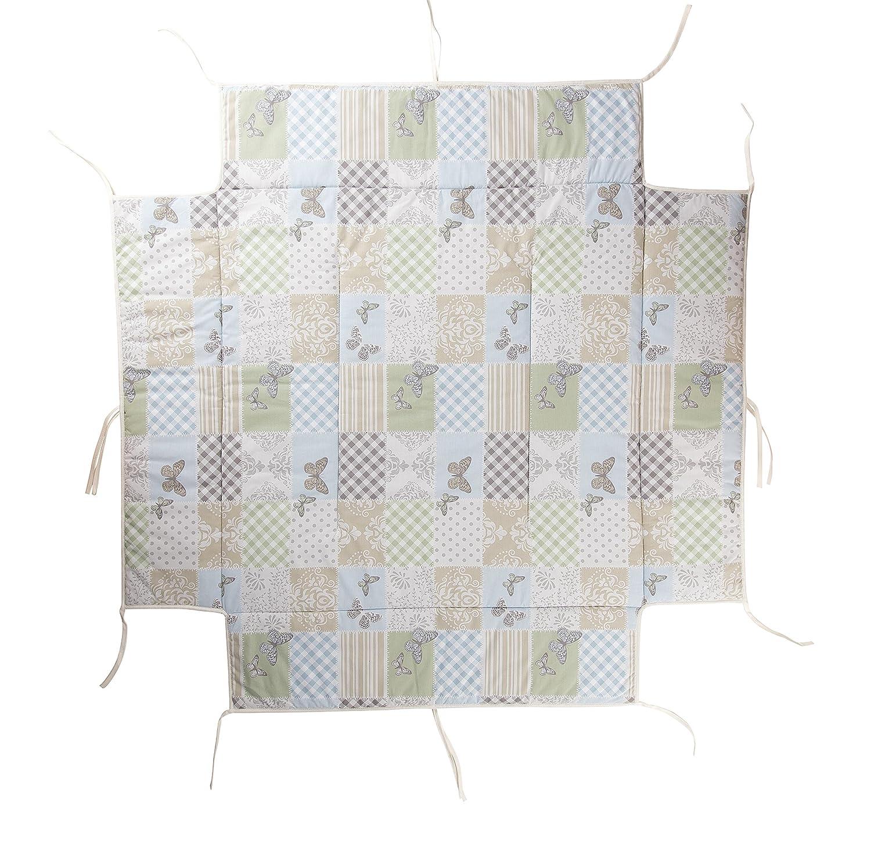 Geuther - Laufgitterbettchen 2234LB, patchwork