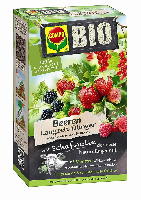 Compo Bio Universal Langzeit-dünger Mit Schafwolle, Einzigartiger ... Dunger Fur Den Garten Pflanzen Kuche