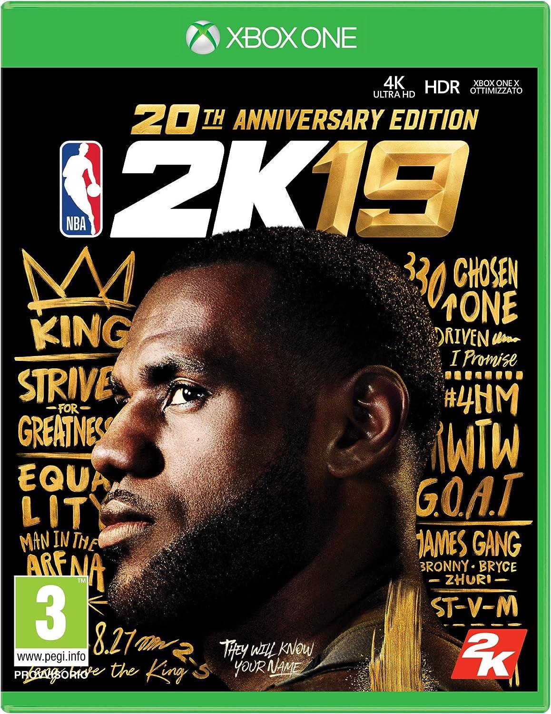 NBA 2K19 20th Anniversary Edition - Special Limited - Xbox One [Importación italiana]