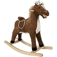 Rockin' Rider Brownie Rocking Horse