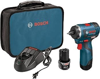 Bosch 12-volt Max Brushless Pocket Driver Kit