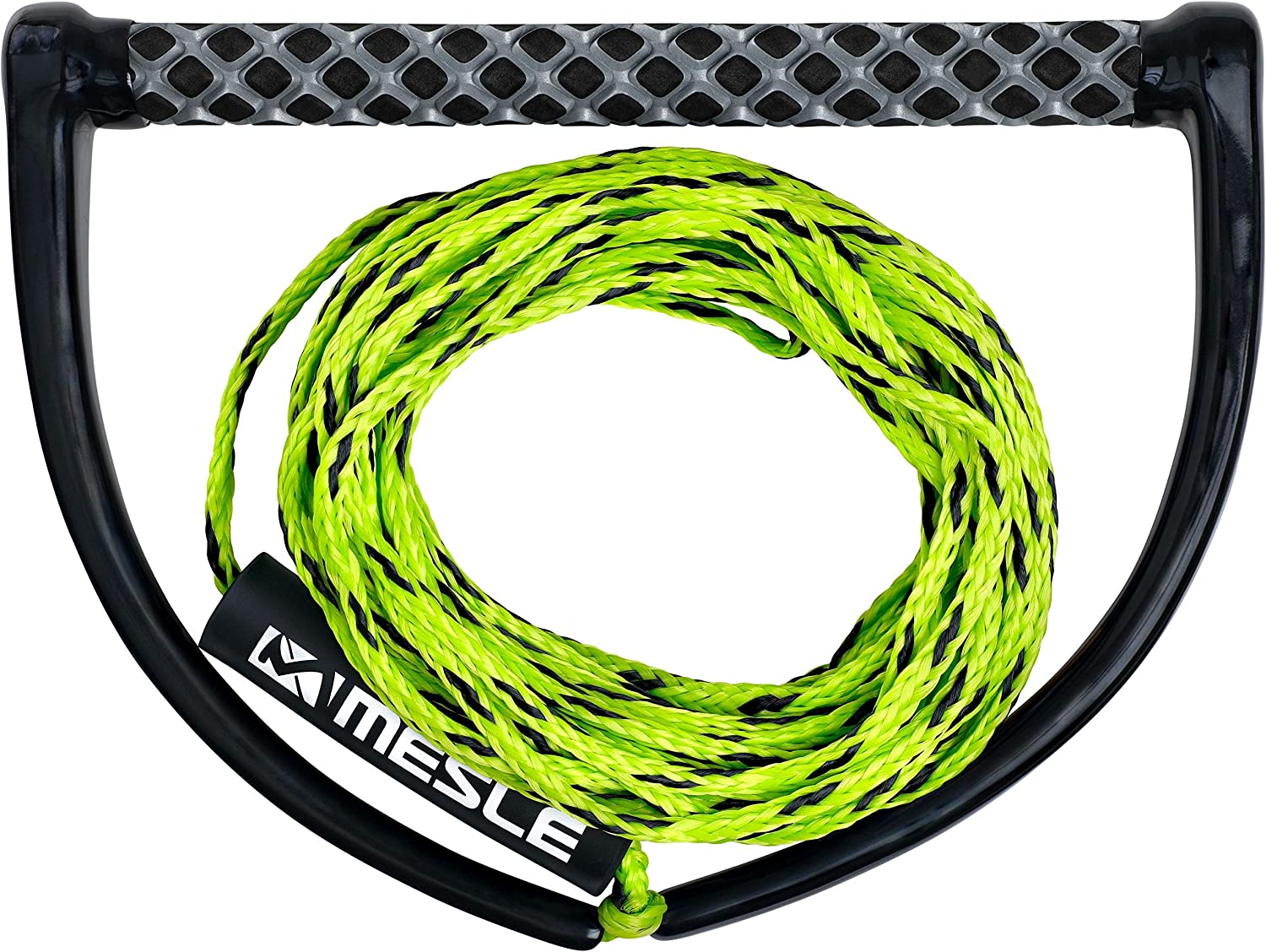 18,3 m watersport boat floating Rope Keeper incl MESLE Wakeboard Rope ONE with 15 Handle EVA Soft Grip Wakeboarding Line Length 16,8 m
