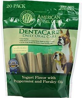 American Kennel Club 20 Count Yogurt Peppermint Parsley Dentacare Dog Treats