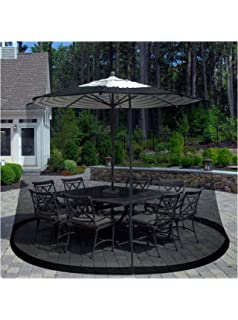 Pure Garden Patio Umbrella Cover Mosquito Netting Screen For Patio Table  Umbrella, Garden Deck Furniture