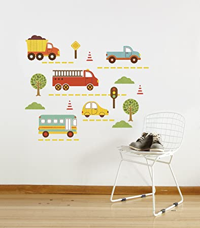 Amazon petit collage wall decal by land nursery wall petit collage wall decal by land gumiabroncs Choice Image