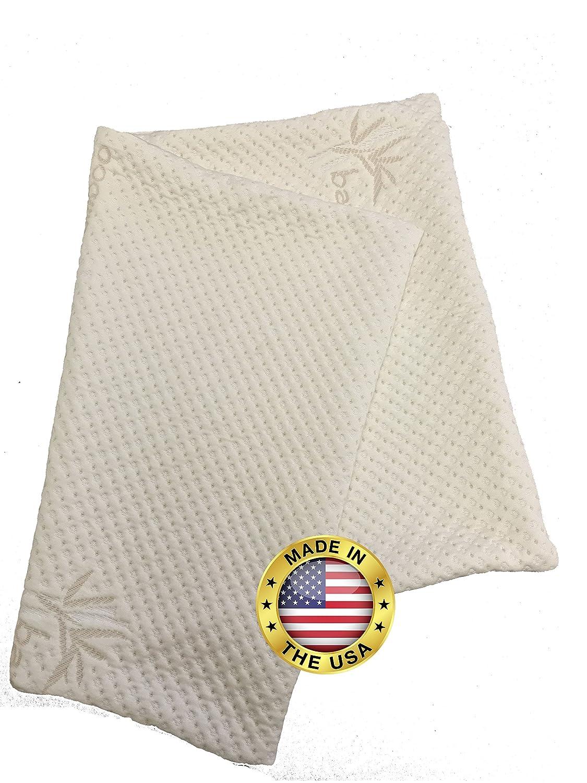amazon com zipper removable pillow cover by snuggle pedic kool