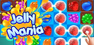 Jelly Fruit Splash: Connect Three in a Line Free Match 3 Game from Unicorn Games Studio