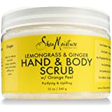 SheaMoisture Lemongrass & Ginger Body Scrub, 12 oz