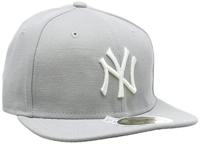 New Era K 5950 MLB League Basic York Yankees Gorra, niño, Gris ...