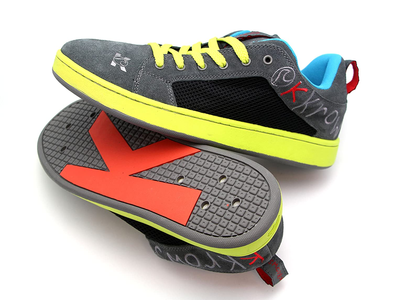 kKrows Liquid Krow Water Sport Shoes, Grey and Green, Size 11-12 B00O2YDSN6 Parent