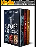 Savage Angels MC Collection Books 1 - 3 (Motorcycle Club Romance)