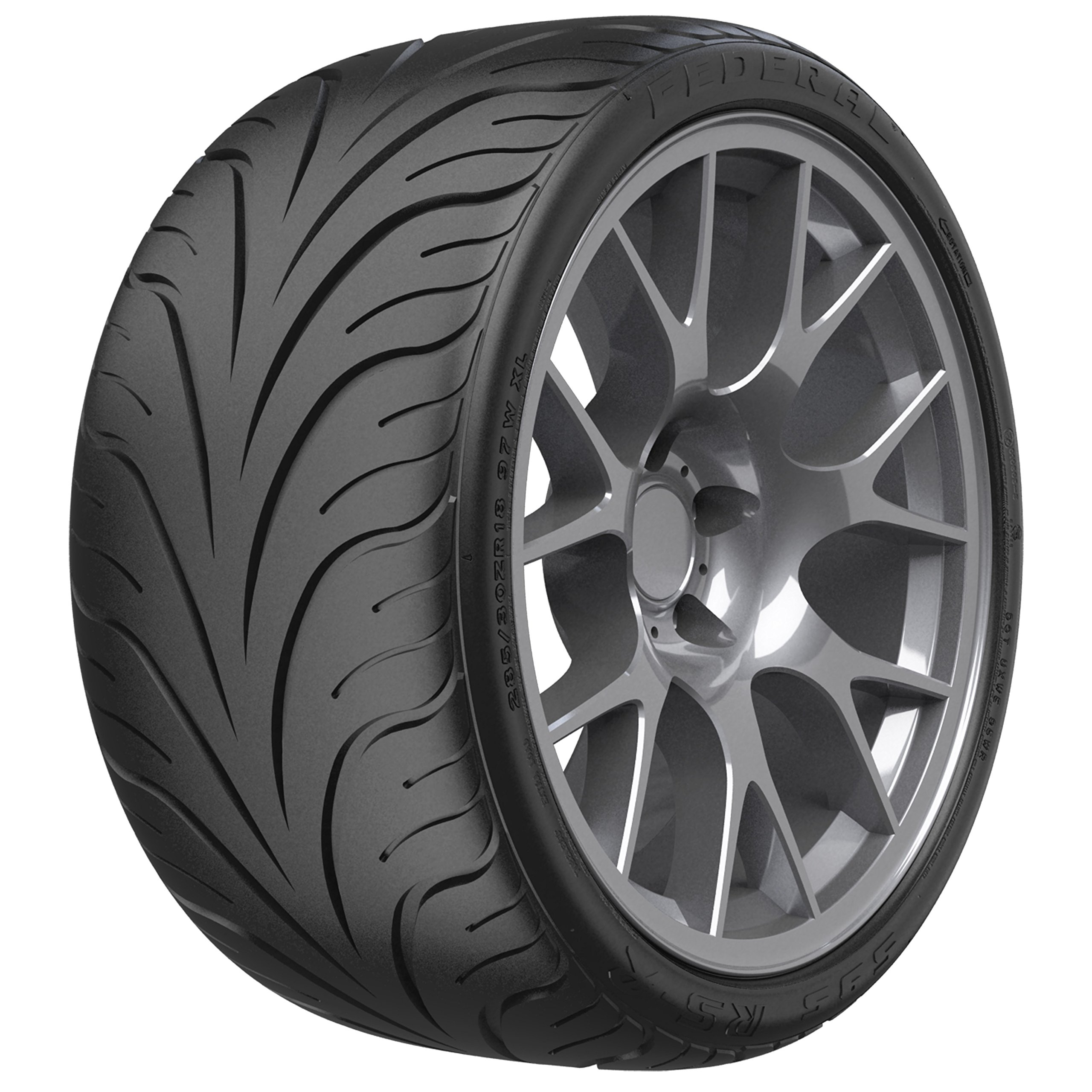 Federal 595 RS-R RACING Racing Radial Tire - 255/35R18 90W