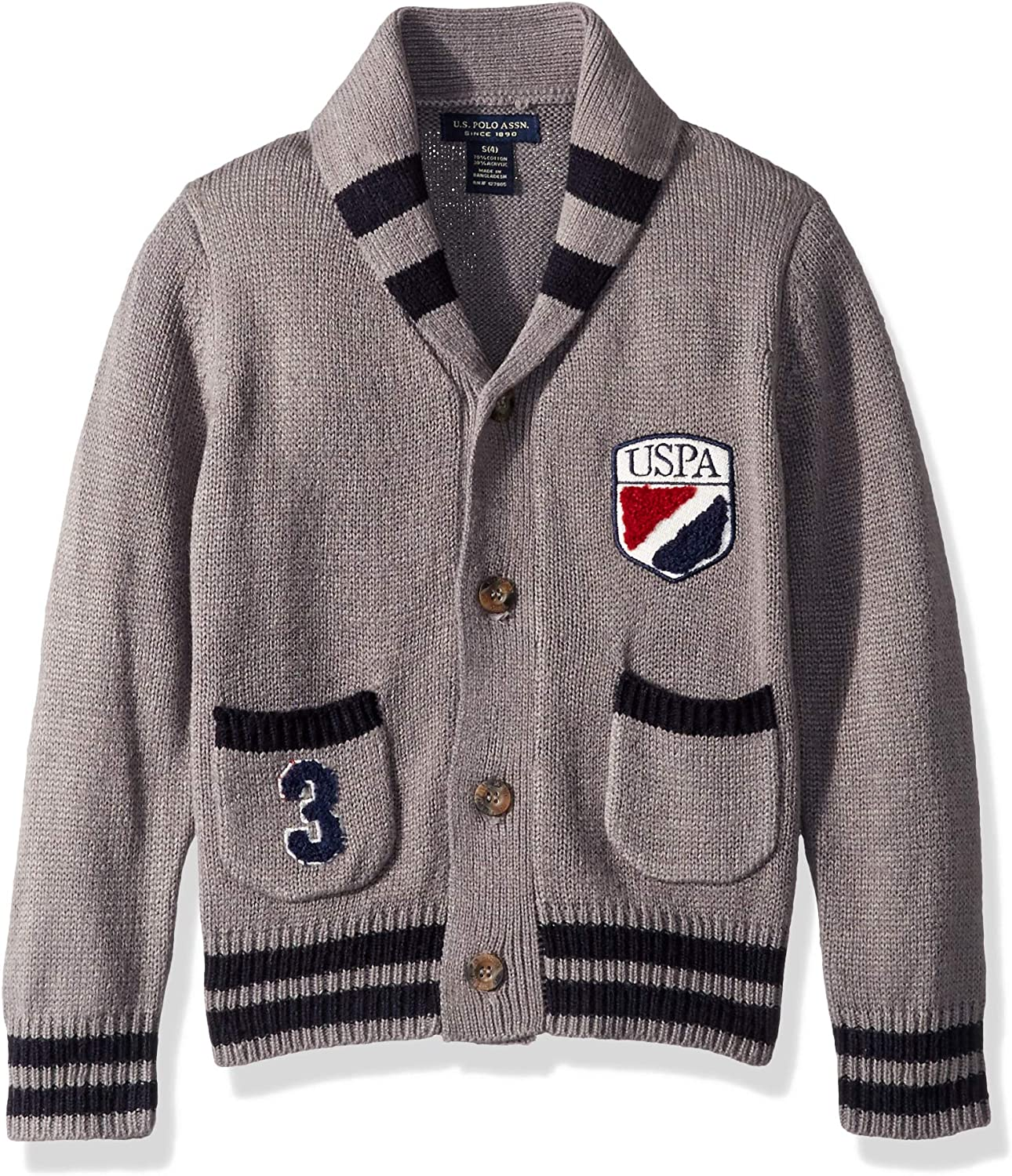 Boys Cardigan Sweater Polo Assn U.S
