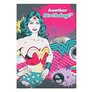 DC Comics Hallmark Birthday Card Wonder Woman