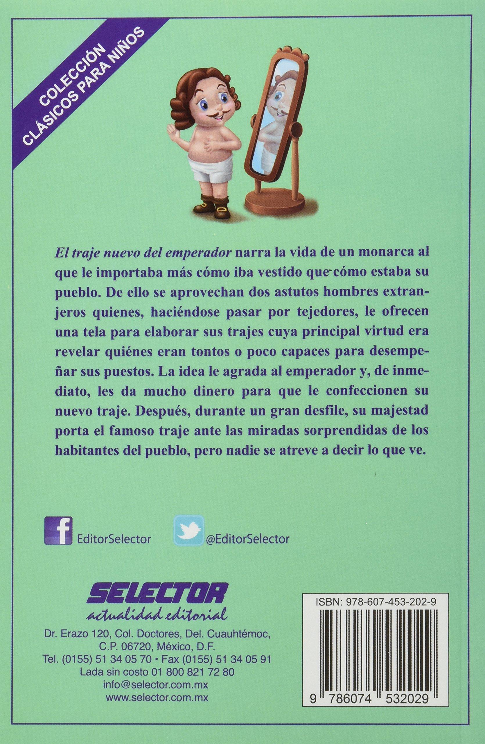 El traje nuevo del emperador (Spanish Edition): Hans ...