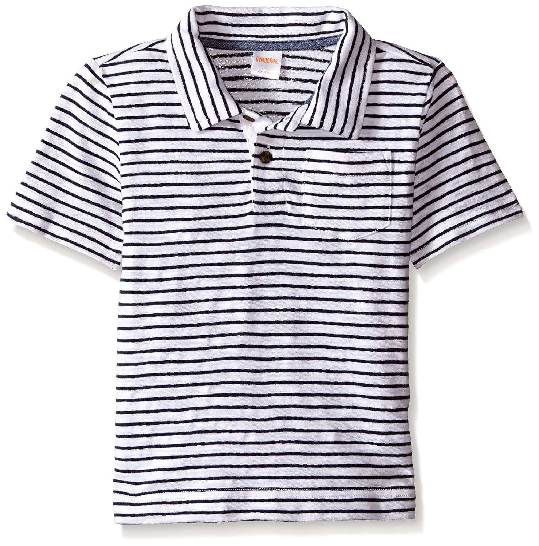 053778634 Amazon.com: Gymboree Boys' Big Micro-Striped Short Sleeve Polo Shirt, Dark  Marine 4: Clothing