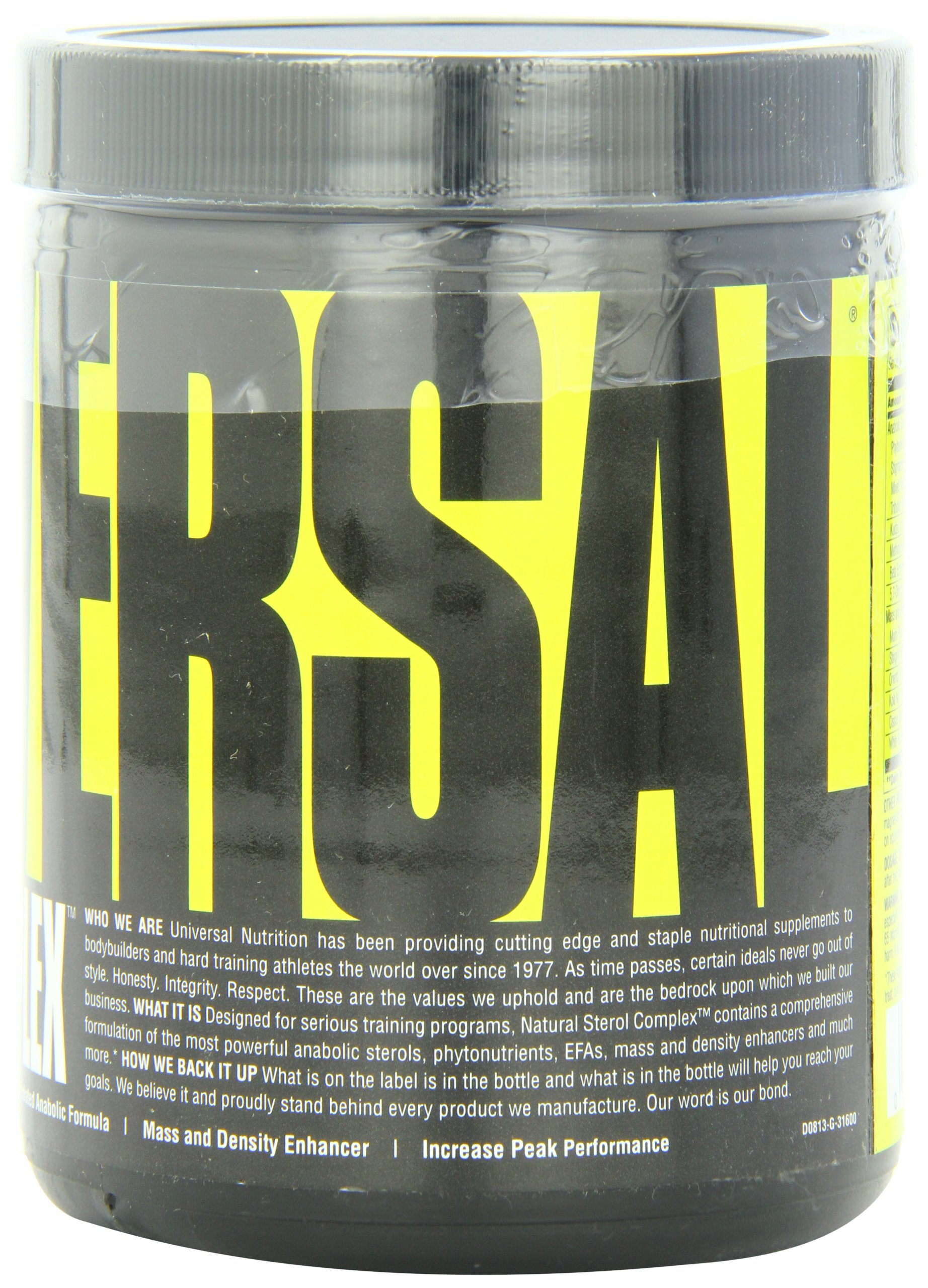 Universal Nutrition Natural Sterol Complex, 180 Tablets