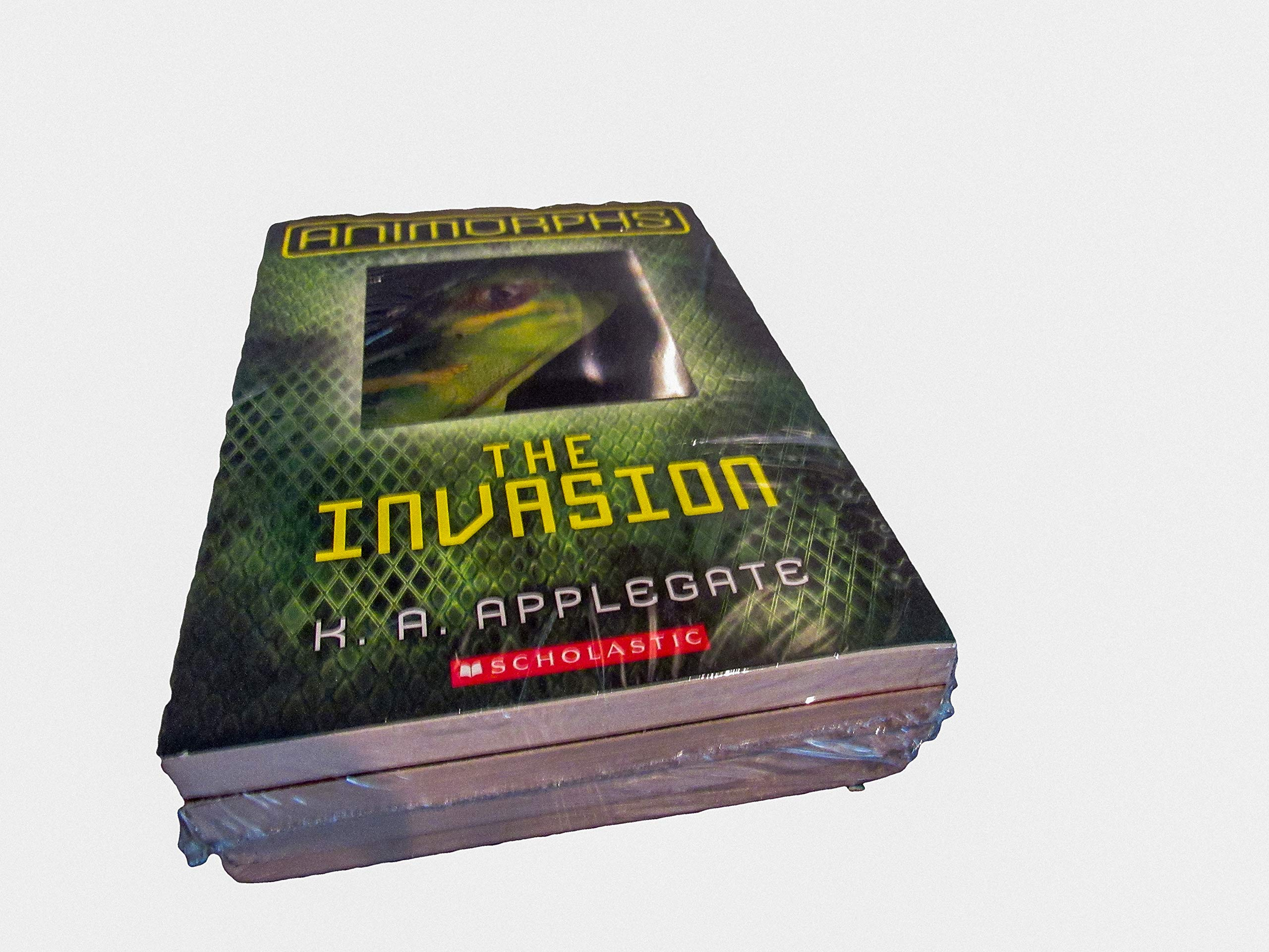 Animorphs Hologram 3d Book Set Books 1 4 The Invasion The Visitor