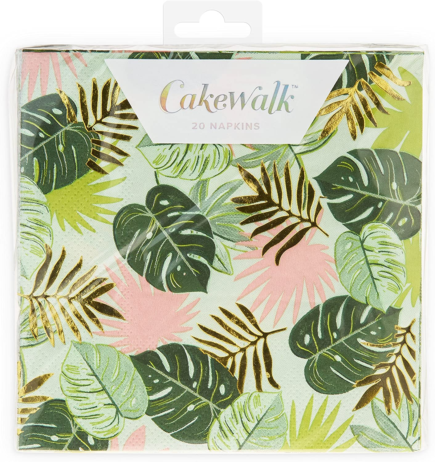 CakeWalk 7460 Gleaming Cocktail Napkin One Size Multi Colored