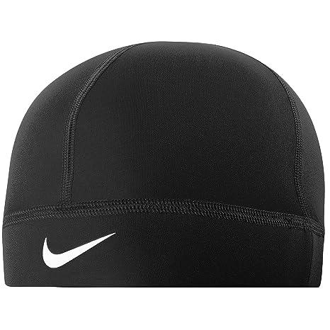 Nike Running Hat - Pro Hyperwarm Skull Cap Black One Size  Amazon.co.uk   Sports   Outdoors f599e099168