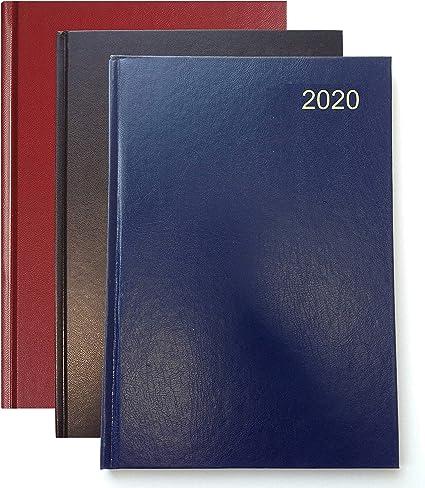 Collins colore: blu Agenda 2020 formato A4 giorno per pagina