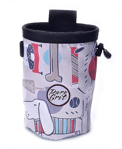 Amazon.com: Pure Grit - Bolsa de tiza para escalada, diseño ...