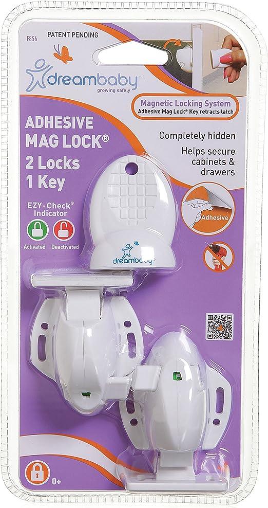 1 clés DreamBaby Mag Lock Blanc