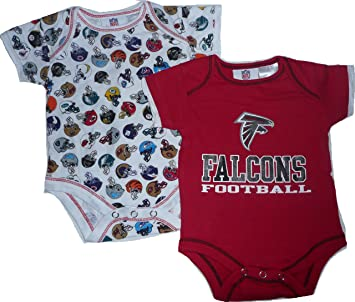 watch 4b7f2 45e05 Amazon.com: Atlanta Falcons 0 3 Month Infant Baby 2pc ...