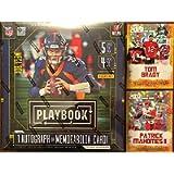 2020 Panini Playbook Football Card MEGA Box (Factory Sealed) - 1 Exclusive Autograph or Memorabilia Card Per Box - Look…