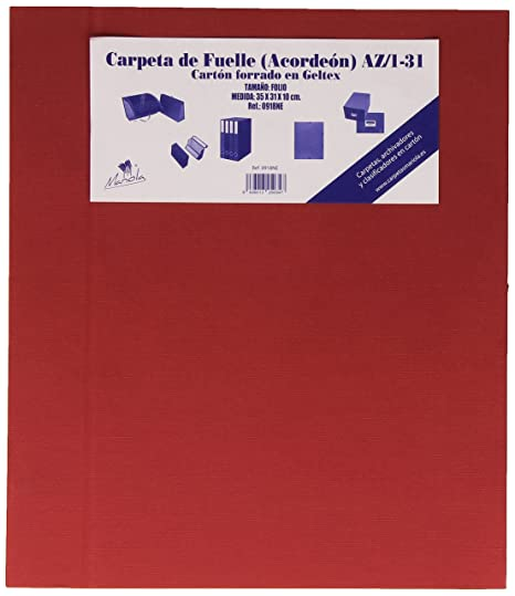 Amazon.com : Mariola 09183 - Accordion Folder Foolscap ...