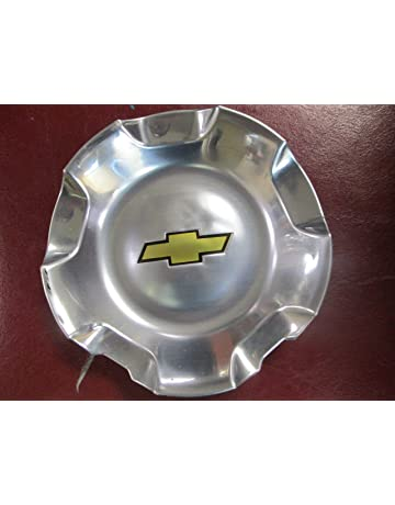 20 Inch OEM Chevy 6 Lug Polished aluminum Center Cap Hubcap Wheel Cover 2007-2014