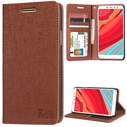 wholesale dealer a3aca 1a50a DMG PU Leather Flip Cover Stand Case for Xiaomi Redmi: Amazon.in ...