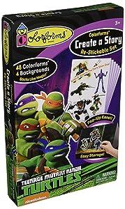 Colorforms Create a Story Teenage Mutant Ninja Turtles