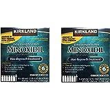 Kirkland Minoxidil 5 percent Extra Srength hbENjD Hair Regrowth For Men, 6 Month Supply, 2 Ounce Bottle, 6 Count (2 Pack)