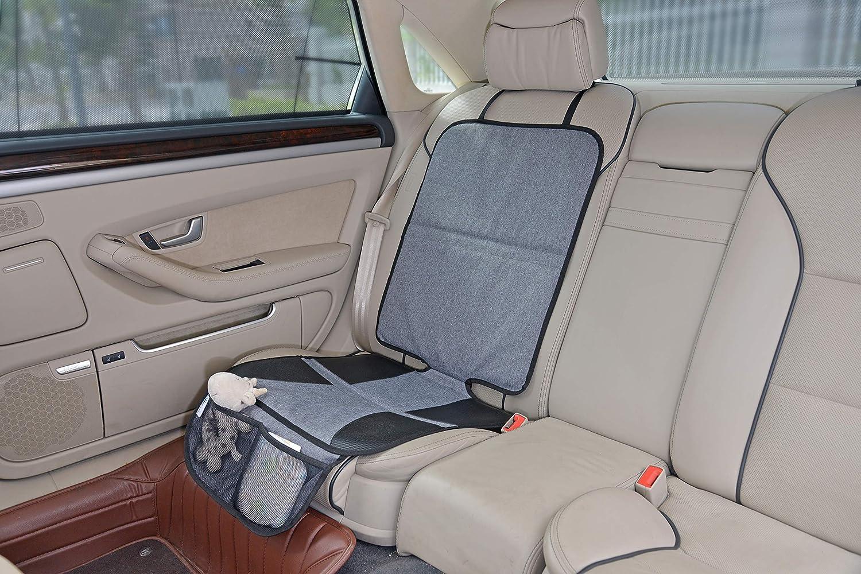 Altabebe Al4013 Autositzauflage Xl Größe 117cm X 45 Cm Dunkelgrau Baby