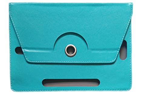 KANICT Rotating Tablet Leather Flip Case Cover for Samsung Galaxy Tab 3 Neo T111  Sky Blue  Bags,Cases   Sleeves