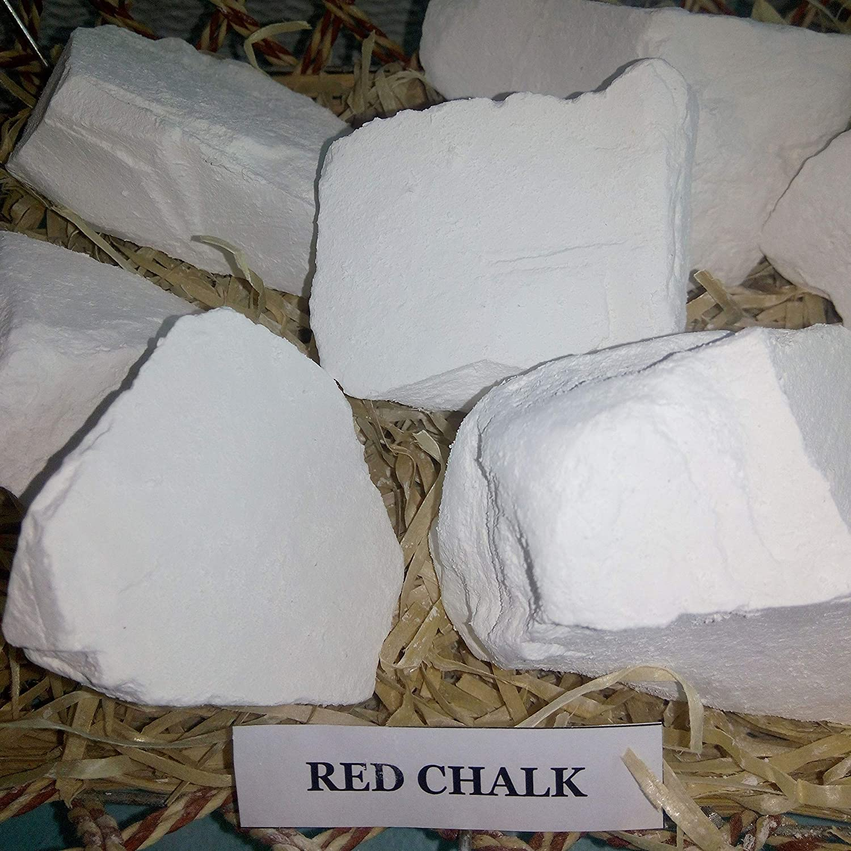 250 gr. Edible Chalk Russian Chalk Red 8 Oz