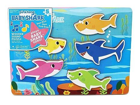Amazon Com Cardinal Industries 6053347 Pinkfong Baby Shark Chunky