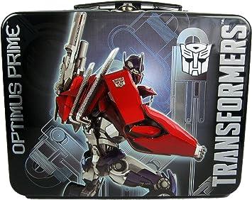 Transformers Optimus Prime Tin Activity Set: Amazon.es: Juguetes y juegos