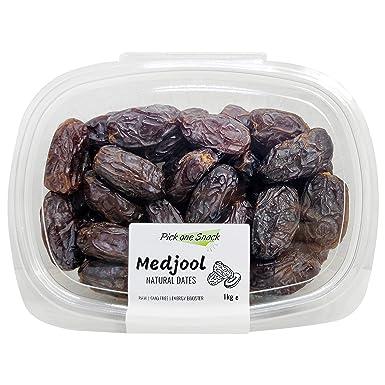 Datiles Medjool de Israel 1kg   Grandes y Naturales, sin azucar ni aditivos